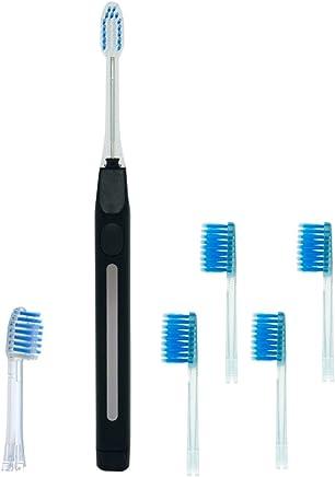 キスユー イオン 音波電動歯ブラシ イオンパ home ブラック + ワイドヘッド4P(青) S152