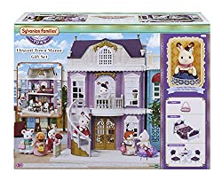 A special set containing the elegant town manor and stella the chocolate rabbit older sister who lives there Also included are original colour furniture and accessories, ideally suited to the manor's interior Stimulates imaginative role-playing by ch...