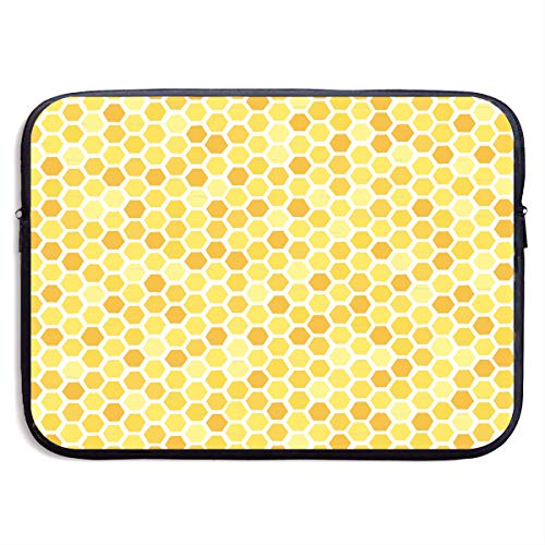 Lovesofun Beehive Seamless Cool Art Waterproof Neoprene Laptop Sleeve Case - Portable Business Notebook Liner Protective Bag for MacBook Pro/MacBook Air/Asus/Dell