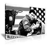 Top Gun Movie Tom Cruise Leinwandbild Kunstdruck Bild
