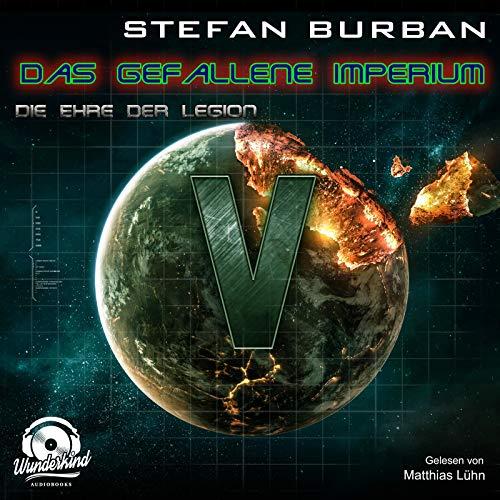 Die Ehre der Legion audiobook cover art