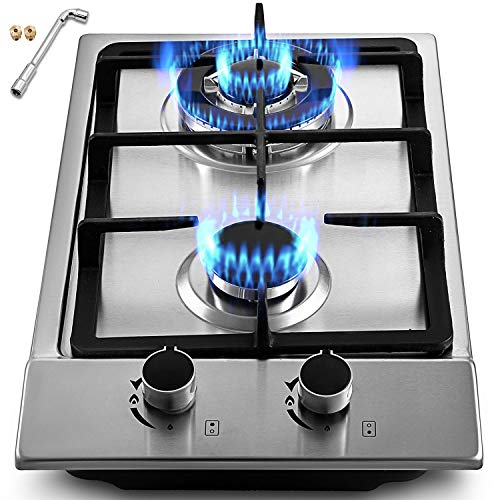 2 gas cooktop - 2