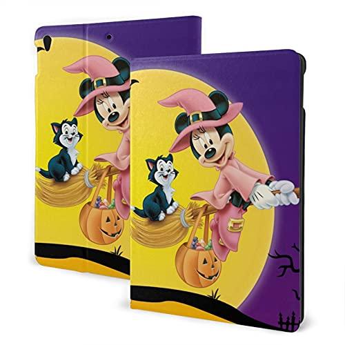 Halloween Mickey Mouse Pad Pad Pad 7th 10.2 pulgadas Pad Air3 cubierta Auto Wake/Sleep para Pad Pro 10.5 pulgadas PU cuero Shell Stand Smart Slim.Pad Air3 10.5 pulgadas