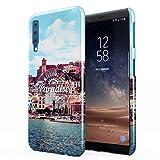 Welcome To Paradise Ibiza San Antonio Eivissa Tropical Chill Island Hard Thin Plastic Phone Case Cover For Samsung Galaxy A7 2018