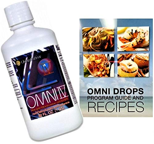 Omnitrition Omni Drop Bundle - Includes Two Products: Omni Drops Diet Drops with Vitamin B12-4 oz with Program Guide and Omni IV (Omni 4) Liquid Vitamins and Minerals with Glucosamine and Co-Q10