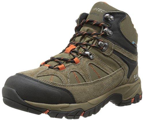 Hi-Tec Men's Altitude Lite I Waterproof Hiking Boot, Smokey Brown/Taupe/Red Rock,7 M US