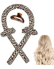 Zijdehaar krulspelden krultang hoofdband krulspelden krulspelden schuim Heatless Curle vrouwen Heatless Hair Curler voor lang haar, Heatless Curling Ribbon