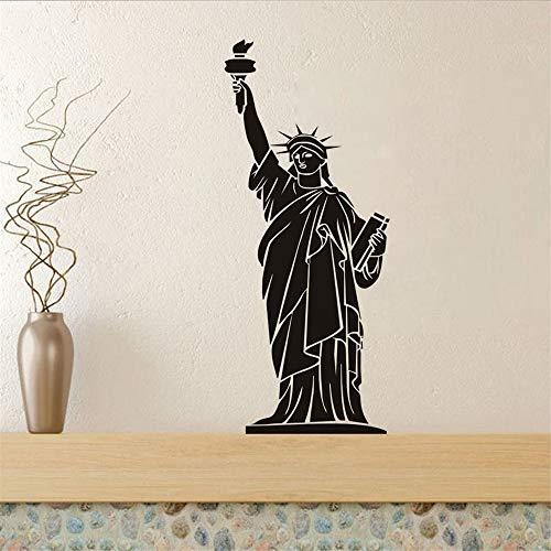 Stickers Muraux New York Landmark Building Statue Of Liberty Home Decor Living Room