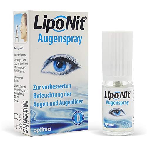Liponit Augenspray gegen trockene Augen (10 ml) Kontaktlinsen fluessigkeit - Alternative zu Augentropfen