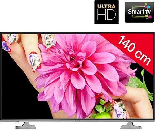 Marionola uhd55d5000is – Televisor LED Smart TV Ultra HD + Cable HDMI 2.0 4 K Platinium – 1,5 m: Amazon.es: Electrónica