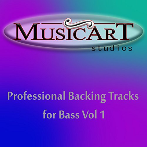 Professional Backing Track A Blues 110 bpm, fo Bass