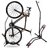 JAPUSOON Bike Stand Vertical Bike Rack,Upright Bicycle Floor Stand,Free Standing Adjustable Bike...