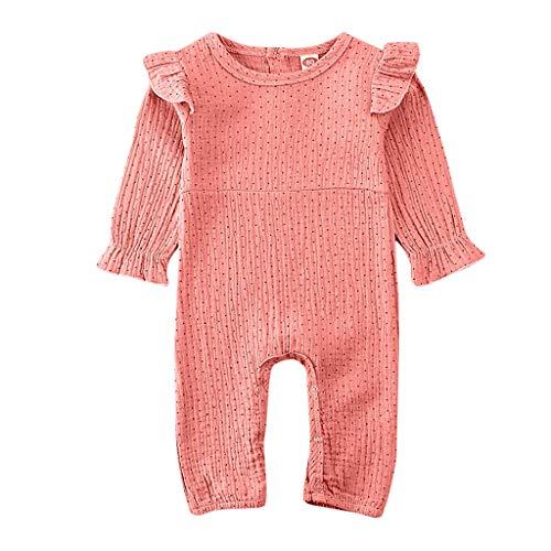 TWISFER Baby Strampler Jungen Mädchen Schlafanzug Baumwollmischung Overalls Säugling Spielanzug Baby Nachtwäsche Unisex Baby Junge Mädchen Bodysuits Outfits Babybody