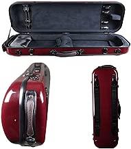 Tonareli Violin Oblong Fiberglass Case- Red Graphite Special Edition VNFO 1018 4/4