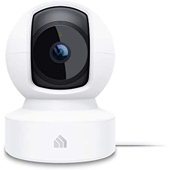 Kasa Indoor Pan/Tilt Smart Home Camera, 1080p HD Security Camera Wireless 2.4GHz with Night Vision, Motion Detection for Baby Monitor, Cloud & SD Card Storage, Works with Alexa & Google Home (EC70)