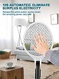Immagine 2 racchetta zanzare elettrica pieghevole jolvvn