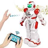 FORMIZON Ferngesteuerter Roboter Spielzeug, Gestenerkennung Roboter, Intelligent Programmierbar RC Roboter, Intelligenter Elektrischer Roboter mit Infrarot-Controller-Spielzeug für Kinder (Spielzeug)
