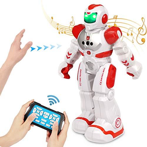 FORMIZON Robot de Control Remoto, Gestos Control Robots, Robots Recargable Multifuncionales Robots Programable Cantando y Bailando para Niños (Juguete)