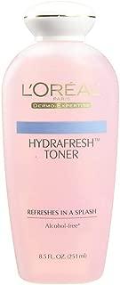 L'Oreal Paris Hydrafresh Toner 8.5 oz (Pack of 3)
