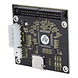 Eboxer SD a IDE 3,5 Pulgadas 40 Pines, SD/SDHC/MMC Tarjeta de Memoria a IDE Adaptador Macho de 40 Pines