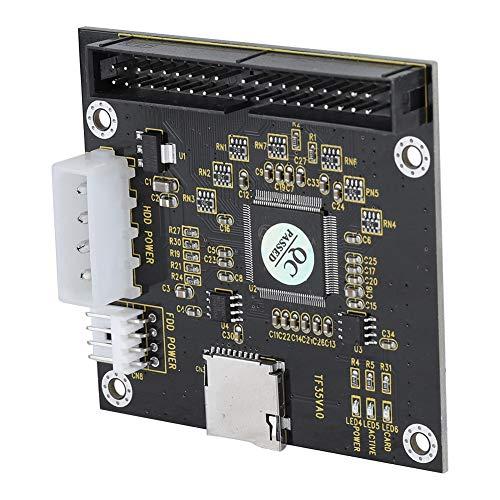 Eboxer SD zu 3,5 Zoll IDE Adapter SD/SDHC/SDXC/MMC-Speicherkarte zu Einem IDE 40Pin-Adapter for DOS, Linux, Windows 98SE, Me, 2000, XP, for Vista