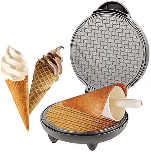 Elektrisch wafelijzer, croissants ijzer non-stick bakpan, ijs schimmel ontbijt