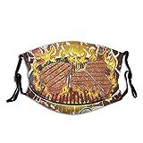 BohoMonos Huhn der Steaks auf heißen Grill-Grill-Sorten...