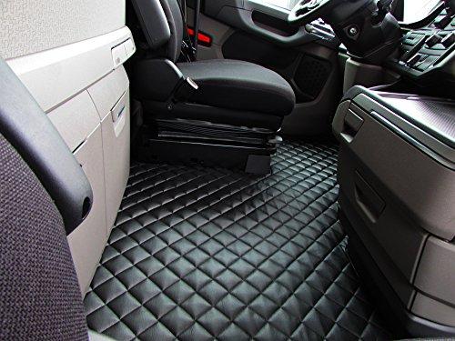 Scania S 500 nach 2017 Set von Linkslenker-Fahrzeugen Autofußmatten LKW Zubehör Dekoration Eco Leder