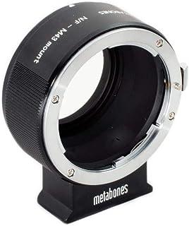 Metabones Nikon F Lens to Micro Four Thirds Camera T Adapter II, Black Matte