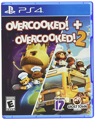 Overcooked! + Overcooked! 2 (PlayStation 4) $19.99 @ Amazon