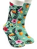 GORNATION® Calisthenics - Calcetines con patrones para hombre y mujer con motivos coloridos para...