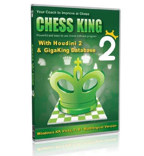 Chess King 2 avec Houdini 2 Logiciel d'échecs jeu et analyse (Version Internationale 2013)