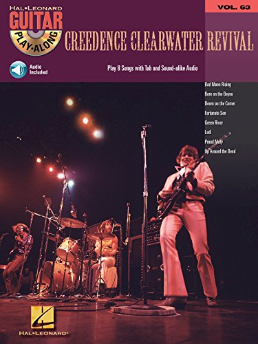 Creedence Clearwater Revival Songbook: Guitar Play-Along Volume 63 (English Edition)
