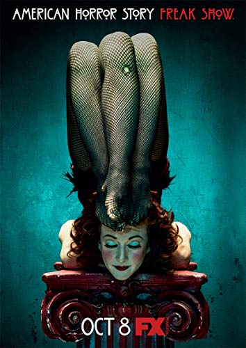 Instabuy Poster- American Horror Story (F) Movie Poster - A3 (42x30 cm)