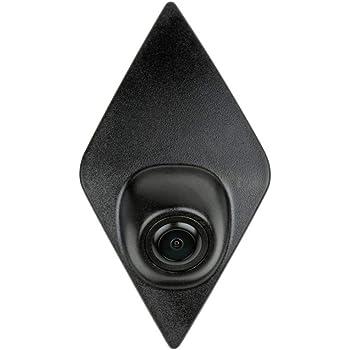 Noir pour Renault Kadjar Koleos Navinio V/éhicule sp/écifique /à Un v/éhicule Vue Avant Logo Syst/ème de stationnement int/égr/é avec CCD imperm/éable /à leau IP67 Grand degr/é Moyen