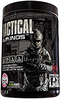 Apocalypse Labz Tactical Aminos - BCAAs, Essential Amino Acids, L-Glutamine, Citrulline Malate - for Fast Workout Recovery...