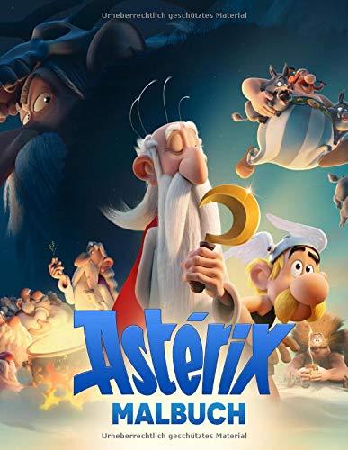 Asterix Malbuch: Tolles Malbuch für Kinder von 3 bis 9