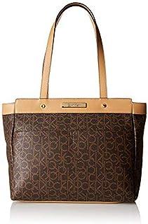 كالفن كلاين حقيبة للنساء-بني - حقائب الكتف