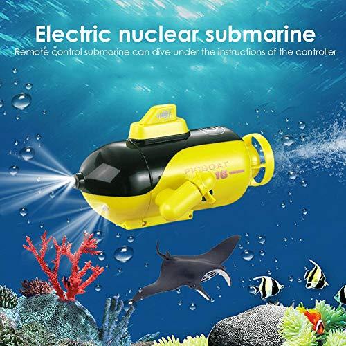 Barco RC para niños, barco a control remoto, mini barco de alta...