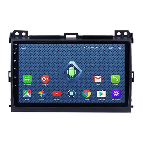 Android 8.1 Radio De Coche Para Toyota Land Cruiser Prado 3 J120 2004-2009 Estéreo De Coche Navegación GPS Pantalla Táctil Reproductor Multimedia De Coche Unid(Size:cuatro nucleos,Color:4G+WIFi:2+32G)