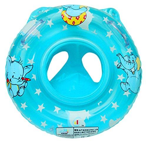 Lukis - Asiento hinchable para bebé, elefante, diseño de dibujos animados