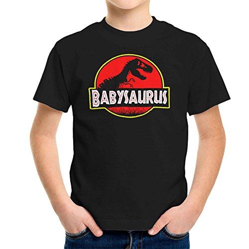 Babysaurus Dinosaur T Rex Skeleton Jurassic Park T-shirt voor kinderen