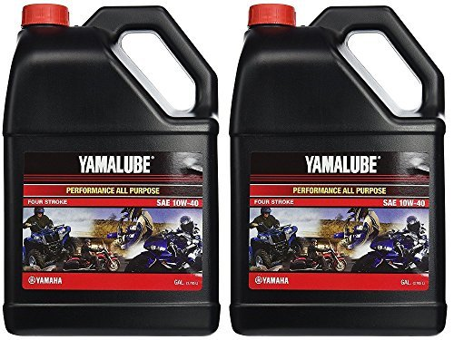 Yamalube All Purpose 4 Four Stroke Oil 10w-40 1 Gallon (2 Gallons)