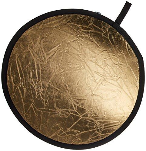 Manfrotto - Reflector de 75 cm, Color Plata y Oro