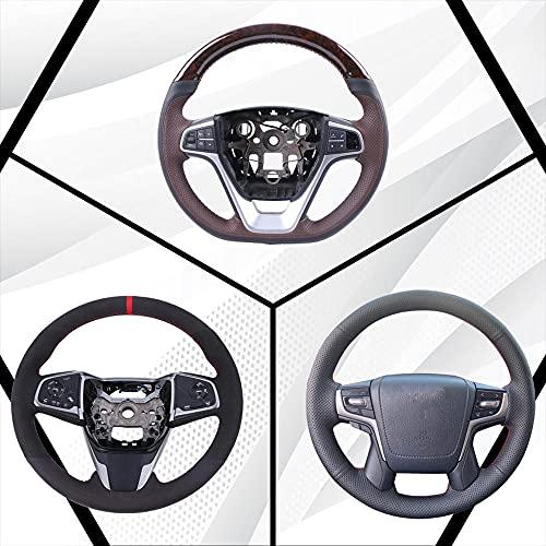 Funda de volante de coche personalizada, apta para V-olkswage-n Golf 4, apta...