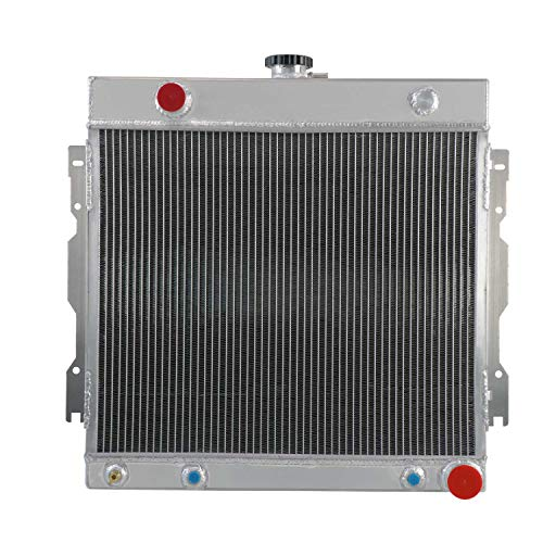 CoolingCare 3 Row Core Radiator for Dodge& Plymouth D100 D150 B100 B200 Multiple Models 1971-1979