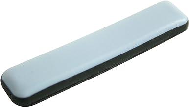 GLEITGUT 24 x Teflongglijders zelfklevend rechthoekig 16 x 75 mm - meubelglijders voor cantilever met plat staal