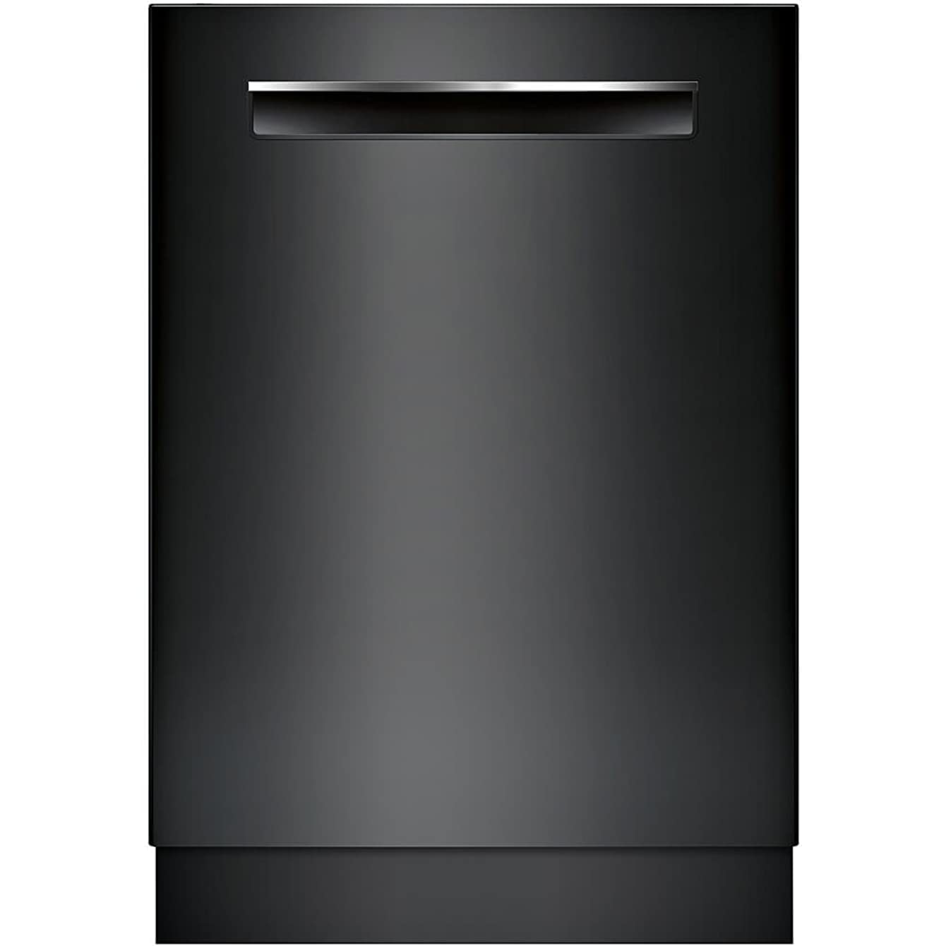 Bosch 800 Series 24 Inch Built In Fully Integrated Dishwasher with 6 Wash Cycles, 16 Place Settings, Soil Sensor, Energy Star Certified, RackMatic, Flexible 3rd Rack, Delay Start in Black