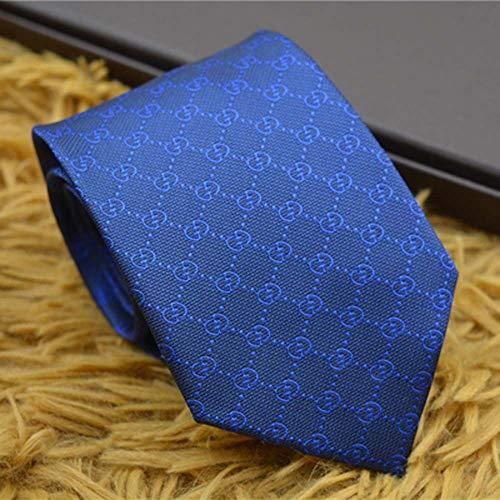 8Cm Klassische Herren-Krawatte Europa Und Die Vereinigten Staaten Große Marke Seidenkrawatte Geschenk-Box Hochzeit Zu Arbeiten Geschenke Binden,K,8cm