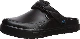 AnyWear Women's Range Health Care Professional Shoe, Black Multi Color Burst, 7 Medium US